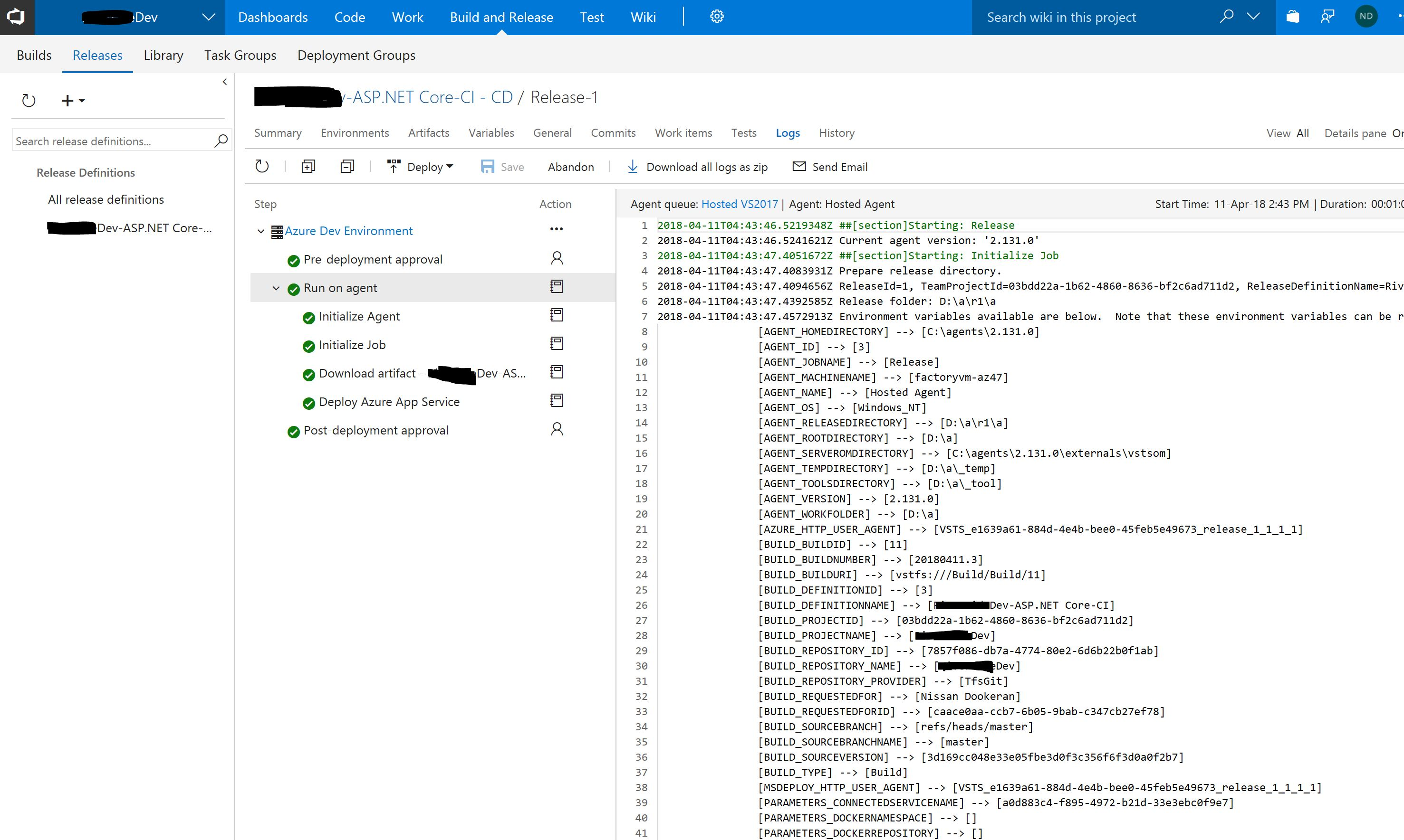 End to End DevOps with ASP Net Core 2 1 Preview's React Template and